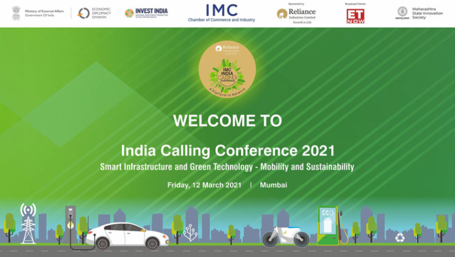 INDIA CALLING CONFERENCE 2021: SMART INFRASTRUCTURE AND GREEN TECHNOLOGY - MOBILE ÁN..