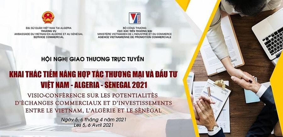 TTM VIETNAM ATTENDED THE VIET NAM - ALGERIA - SENEGAL TRADE CONNECTION CONFERENCE